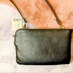 Urban Outfitters Double Zip Crossbody Bag NWT